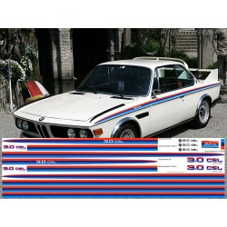 BMW CSL M3 - stripes decal