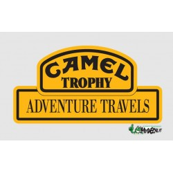 Adesivo Camel Trophy Adventure Travels