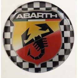 Adesivi ABARTH resinati 50mm