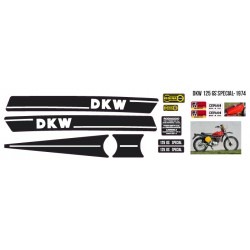 Kit Adesivi Completo DKW 125 GS SPECIAL