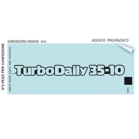 TURBO DAILY IVECO 35-10