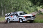 AUDI QUATTRO Historic Rally Team con Mydecal.it!