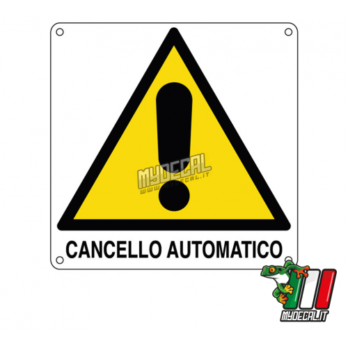 Cancello Automatico 220x220mm