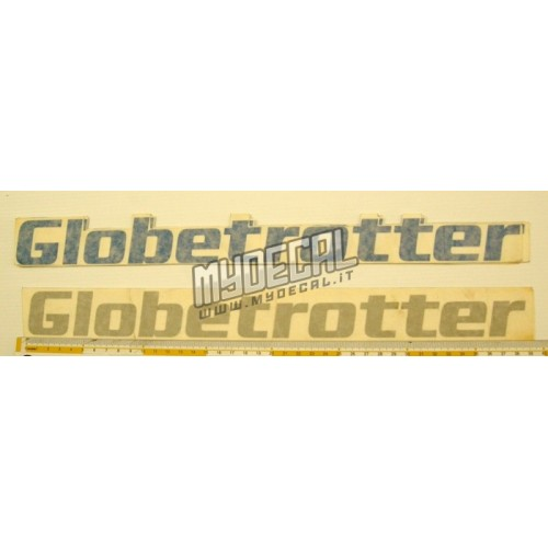 Adesivo Camion GLOBETROTTER coppia 400 mm