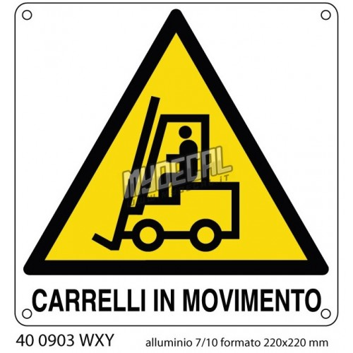 CARRELLI IN MOVIMENTO 220x220 cod 400903W